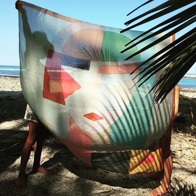 metropolis foulard, this lady all you need at the beach #costarica #ikoutschuss #ankerstrasse25 #zürich