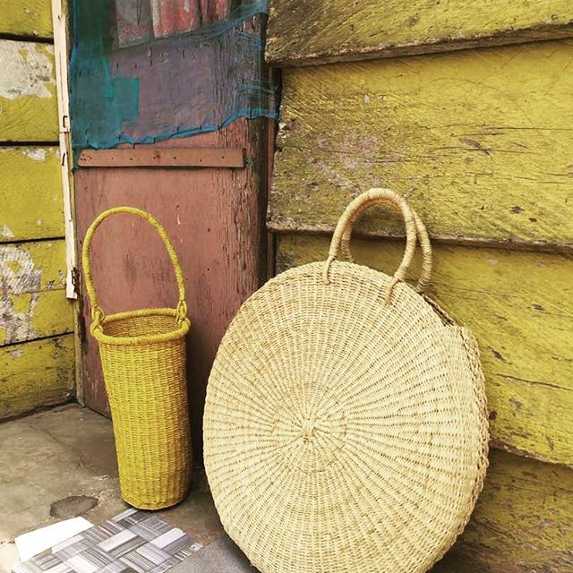 new girlfriends in the shop. come and see these beauties! thank you kathrin, great collaboration @kathrineckhardtstudio #ghanamade #weloveartisans #3colours #3forms #sobeautiful
