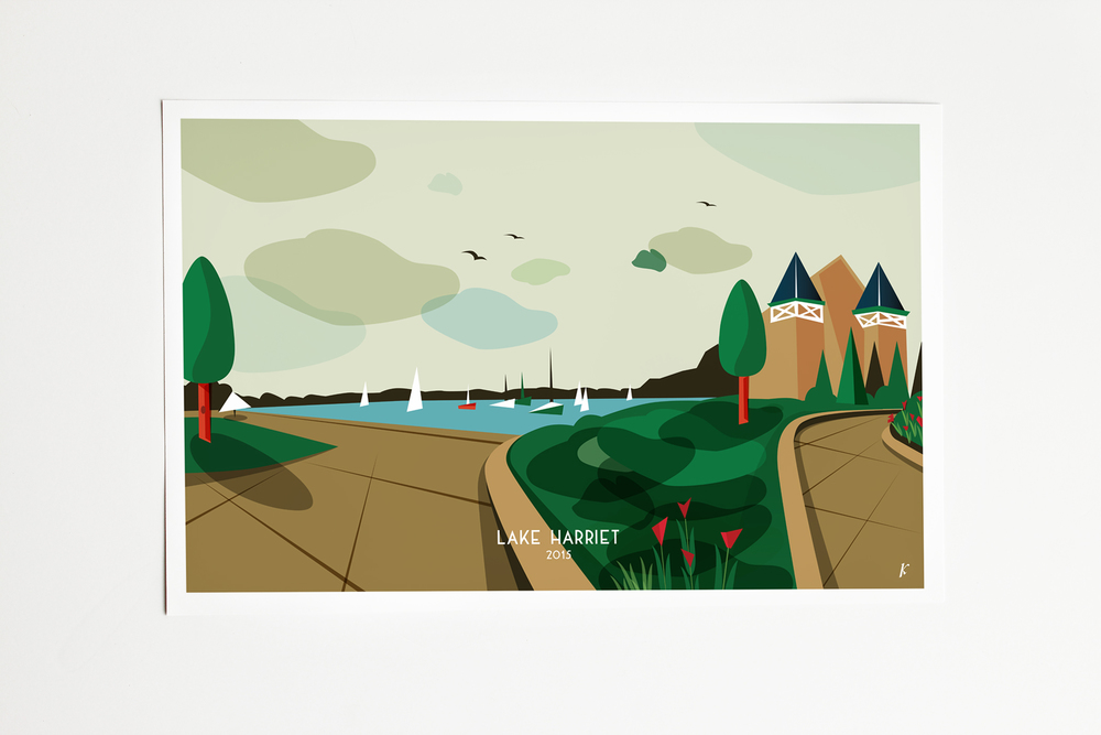 Lake Harriet - $15.00
