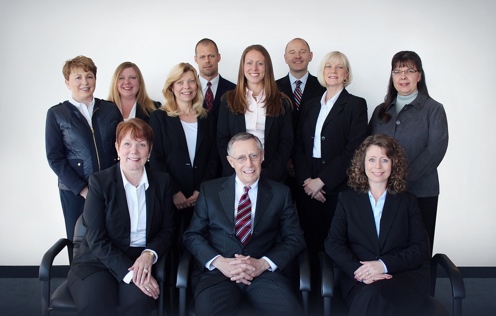 Photo of the employee team members of Access Financial Services.