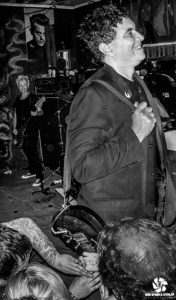 Pat Smear, Germs   Burts Tiki Lounge, SLC 2009    ©Adam Hughes