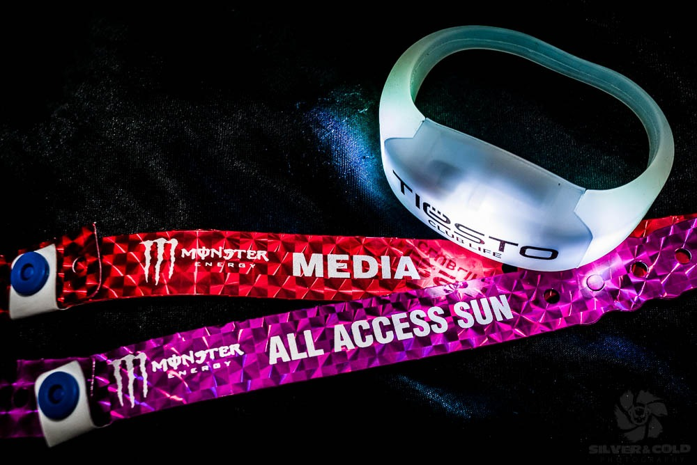 So today I was hired to film promo shots for a company that makes these LED wrist bands during Tiesto's set in Aspen for the X-games. The band reads 'Tiesto Club Life', and they handed them out at the entrance to the concert to thousands of people. What's cool is the bands are controlled by the lighting designer at the sound booth, and for most of the set they were turned off. After half the set,   they turned off the crowd lights and turned these on, so all you could see was an ocean of led lights dancing in the dark, changing colors and flashing on and off at times. It was pretty cool to see. It was my job to get video of the crowd sporting these wristbands and going crazy to the music. I pretty much could do whatever I wanted when I was there. I got to shoot from the stage, shoot in the photo pit long after they kicked out the photographers, and go to the vip tent and backstage area. It was pretty rad, and a lot of my friends were working security at the show.  I had no idea who Tiesto was before this, but he walked right by me on the way to the stage. My roommate, who happened to be working the gate asked him who he was and he said he was the DJ. we looked at each other, confused. I finally realized it was him when a fan about five feet in front of me asked to shake his hand and started freaking out. Apparently he is a big deal. I was shocked by this, because he mostly just spun remixes of other people's songs. I guess people are into that thing. I had to pick my jaw up off the floor after I over heard what he was getting paid to play in aspen. Overall, it was a pretty good time, and I got a lot of really good footage. Hopefully I will get to see the final promo when it is done and I can share it with you guys. Maybe ill post a clip of what I shot tonight.