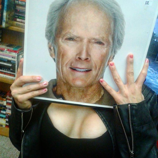 The Good, the Bad, and the Ugly  #clinteastwood #henrykissmyassinger #madonna #likeavirgin #ooh #touchedfortheveryfirsttime  #tits #titsorgtfo #thrifting #bookstore #mymichelle #iloveher ❤😨😂