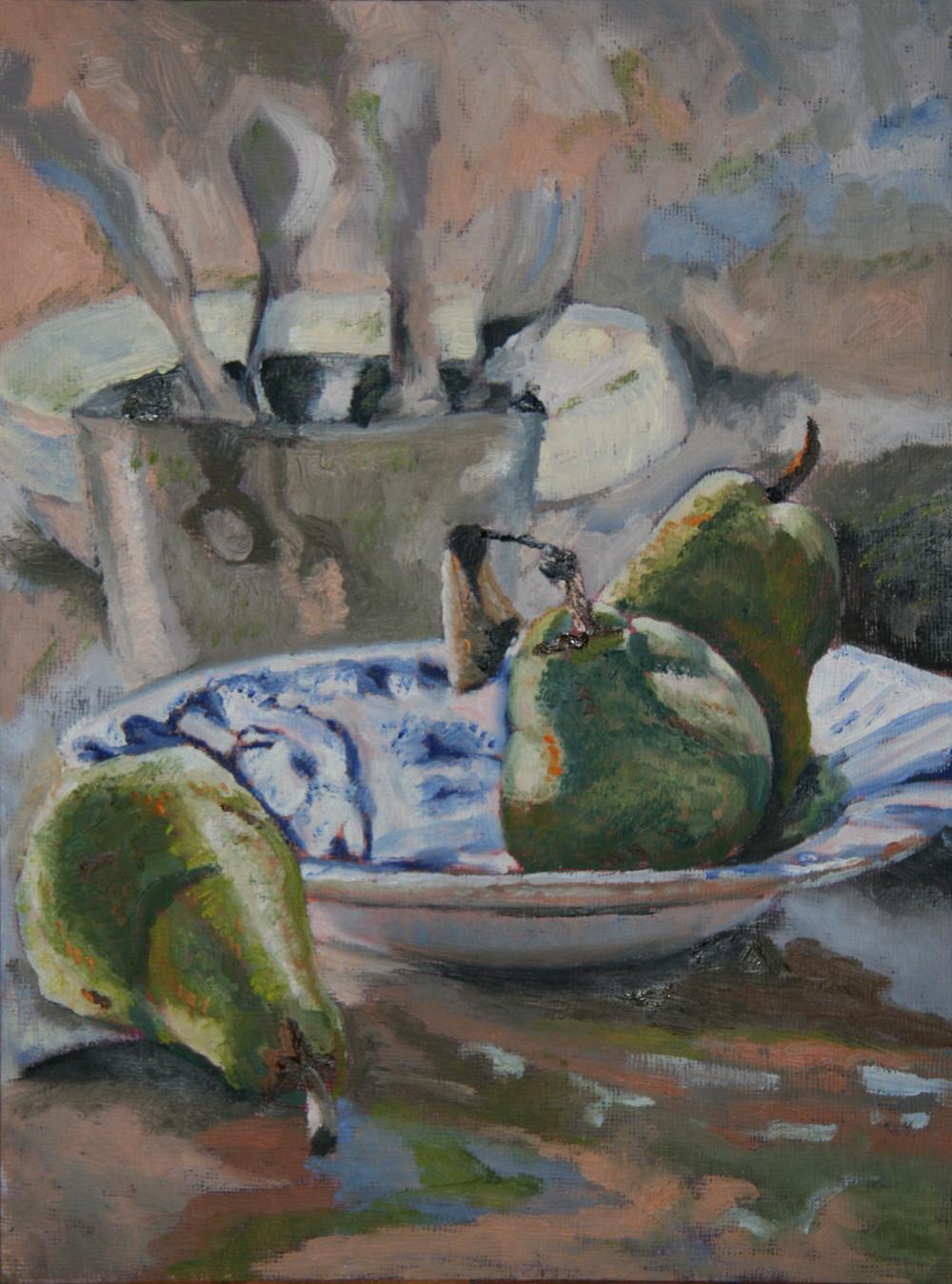 Porcelain Pears