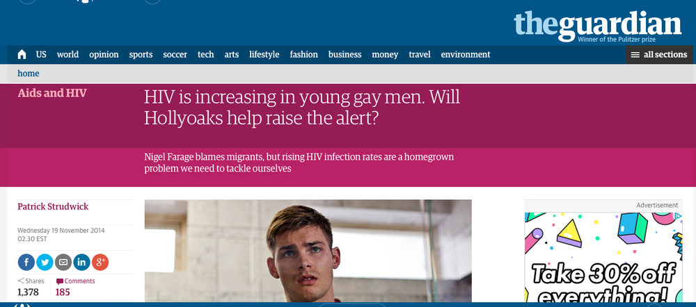 Click here to read The Guardian →