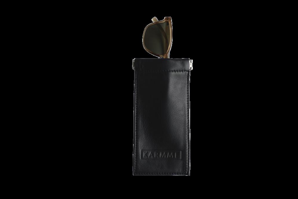 Copy of black sunglasses pouch