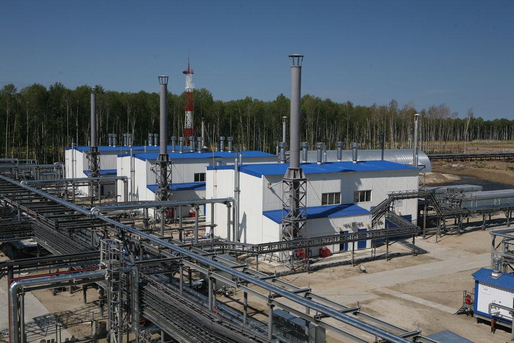 LPG Plant, Central Asia