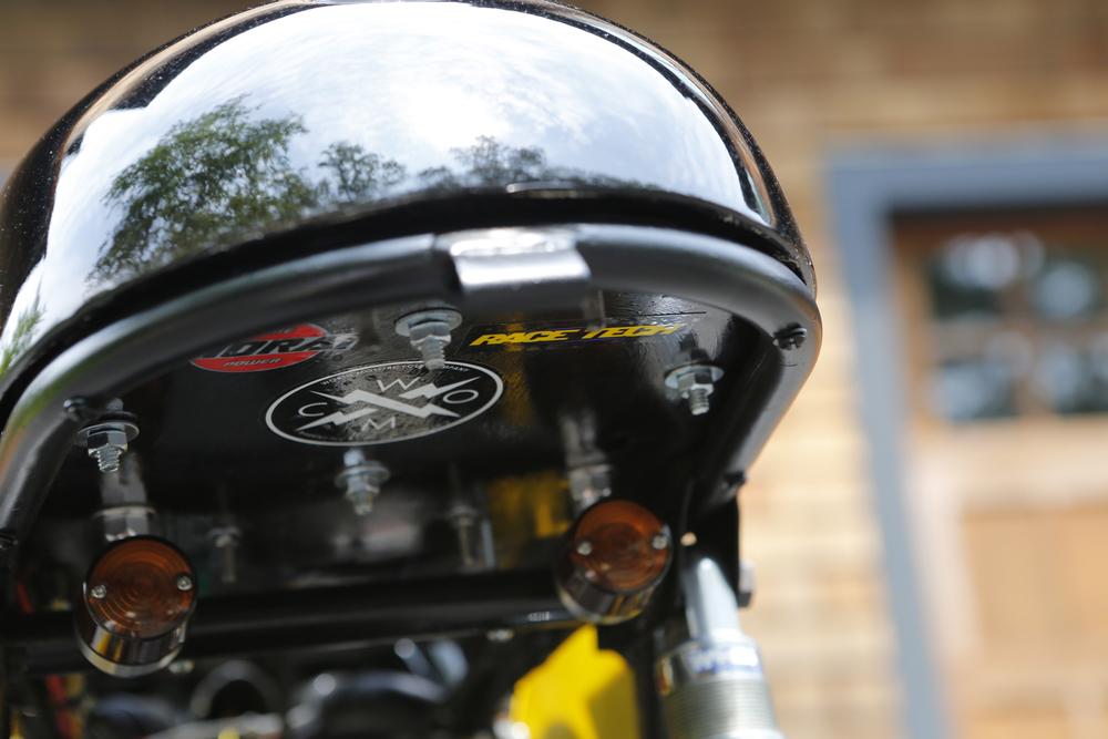 '76 R60/6, Seat-pan