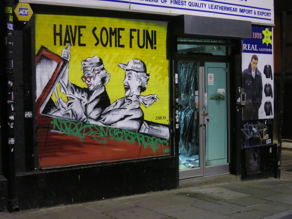 How can you not love Shoreditch!