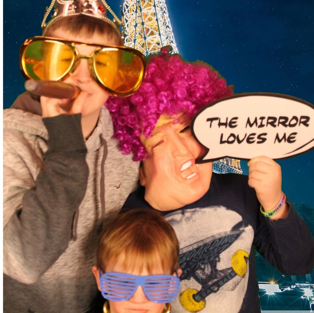 magic photo booth...