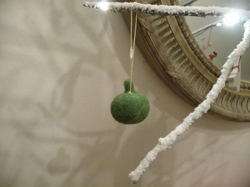 Daylesford Organics felt fruit