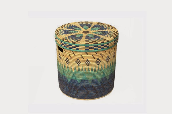 I particularly like this range of hand-woven linen baskets by designer Donna Wilson which are produced in collaboration with SCP and People of the Sun which is a non-profit social enterprise in Malawi.