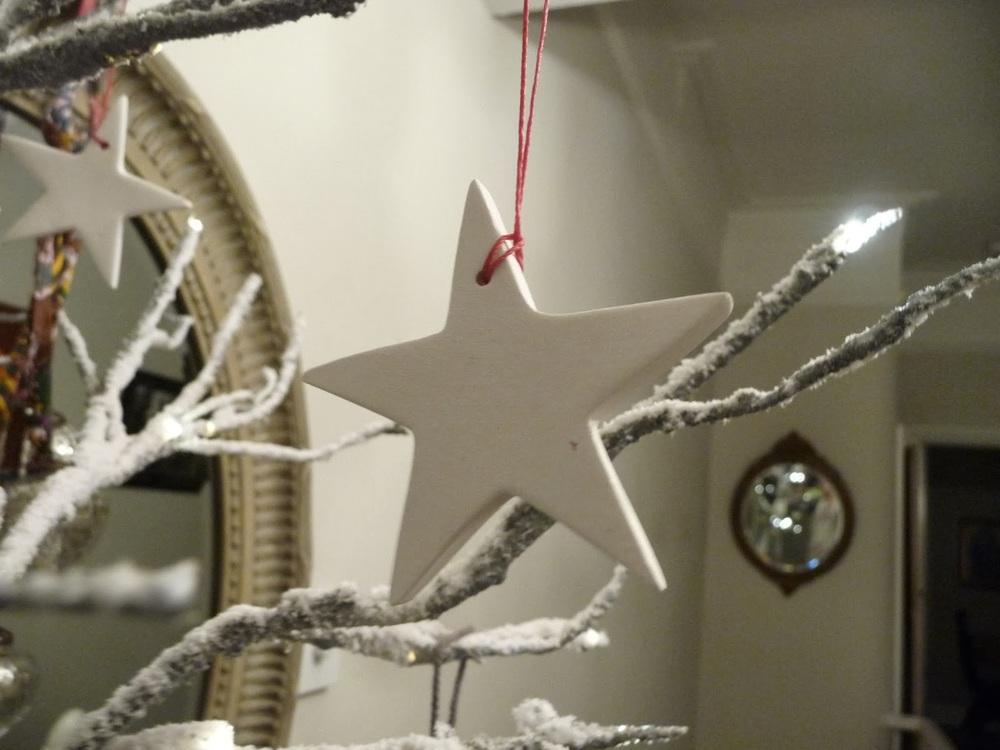 Daylesford Organics ceramic star