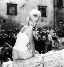The Bardot photo is stunning and is an enormous photo in the gallery.