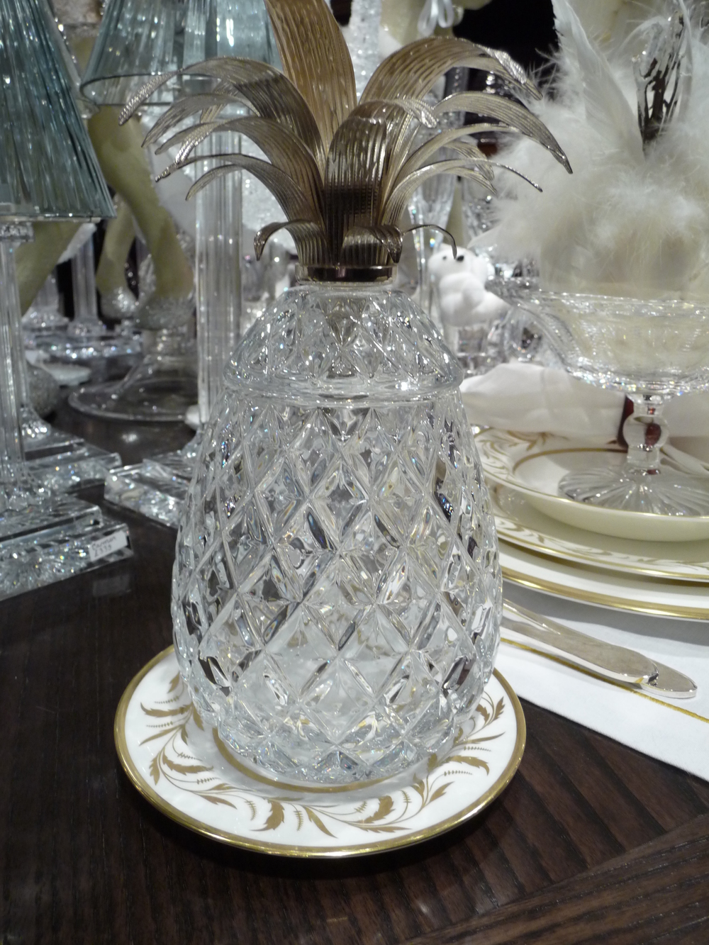 Love this crystal pineapple!