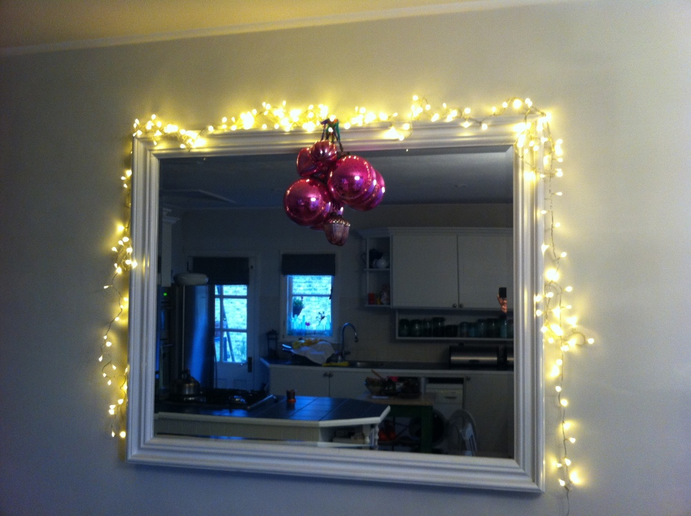Always decorate your mirrors as it adds real sparkle to a room