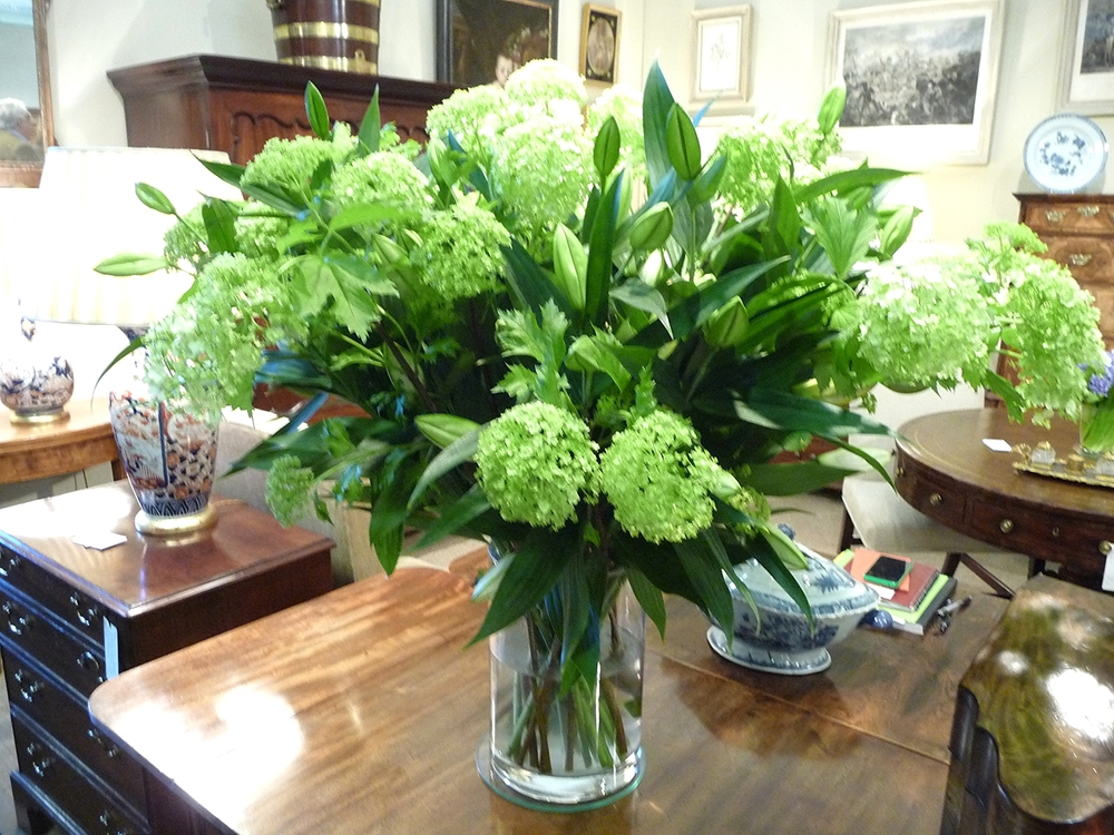 Stunning lime colours in this arrangement