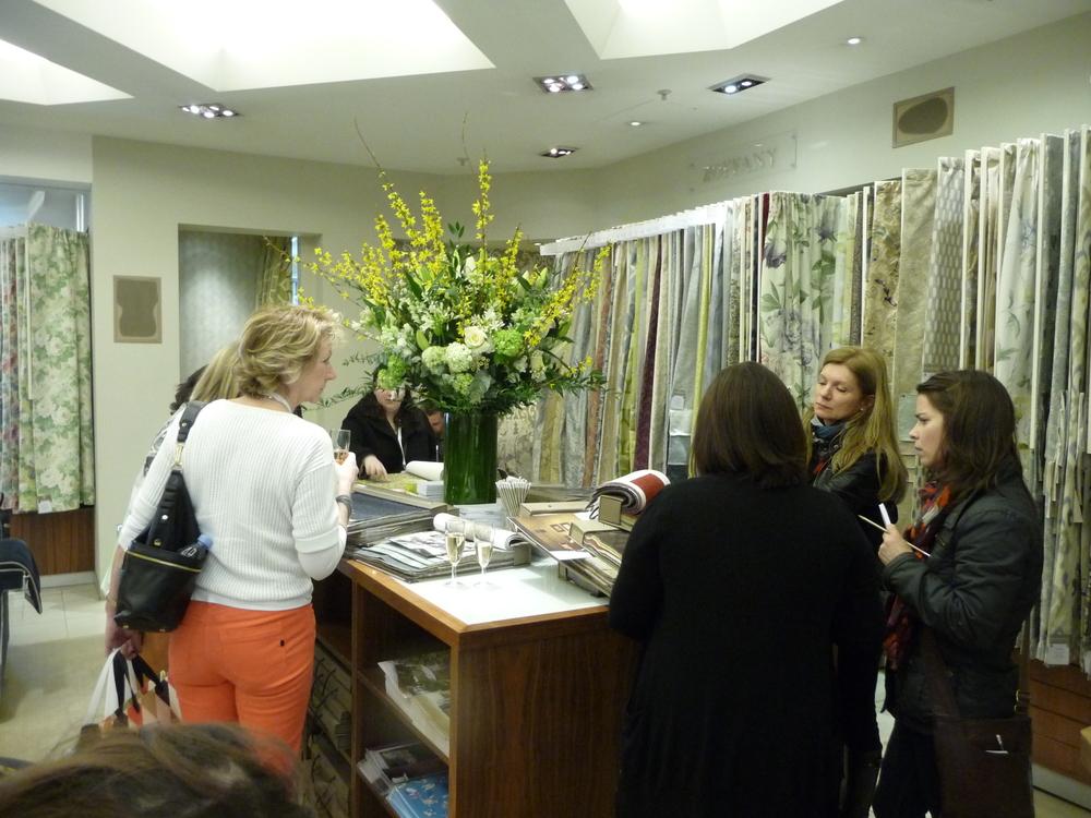 Sanderson and Zoffany showroom