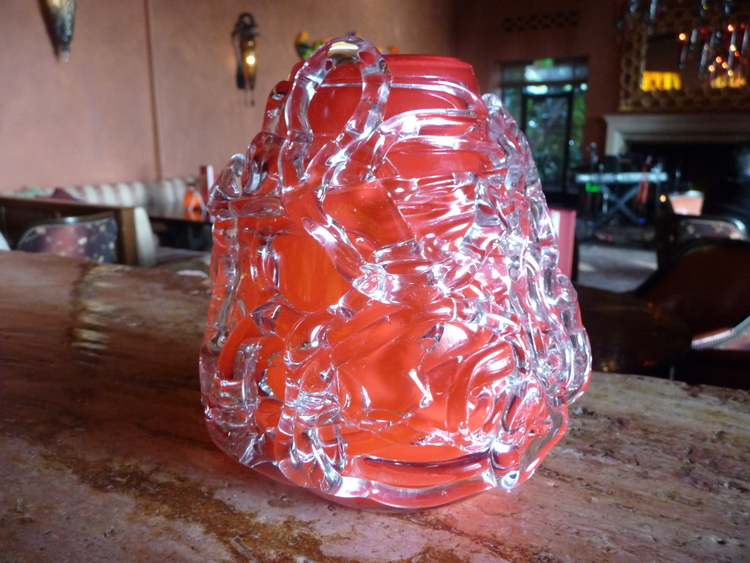 Funky glass decorative item