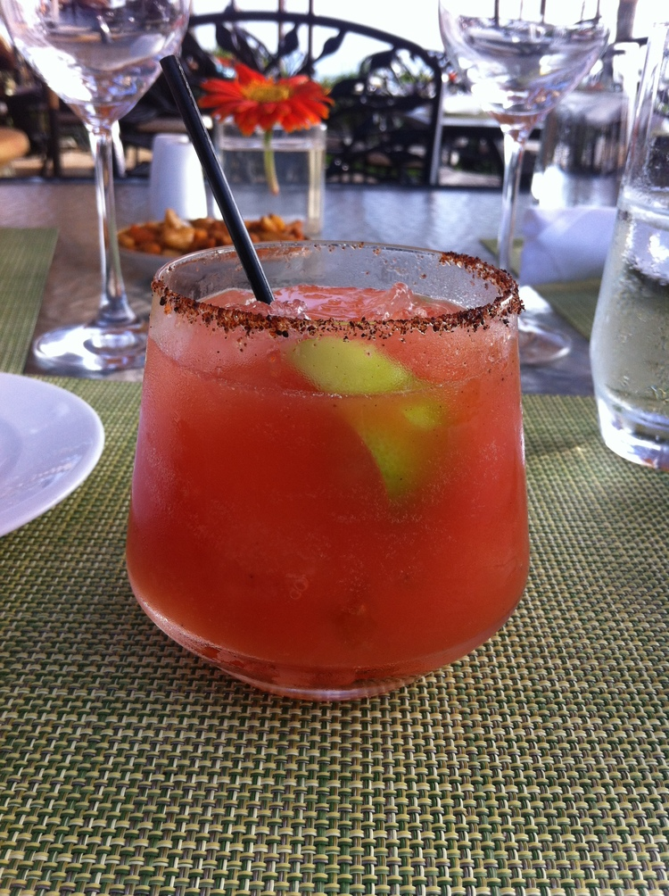 Sage Margarita at the Four Seasons Santa Barbara