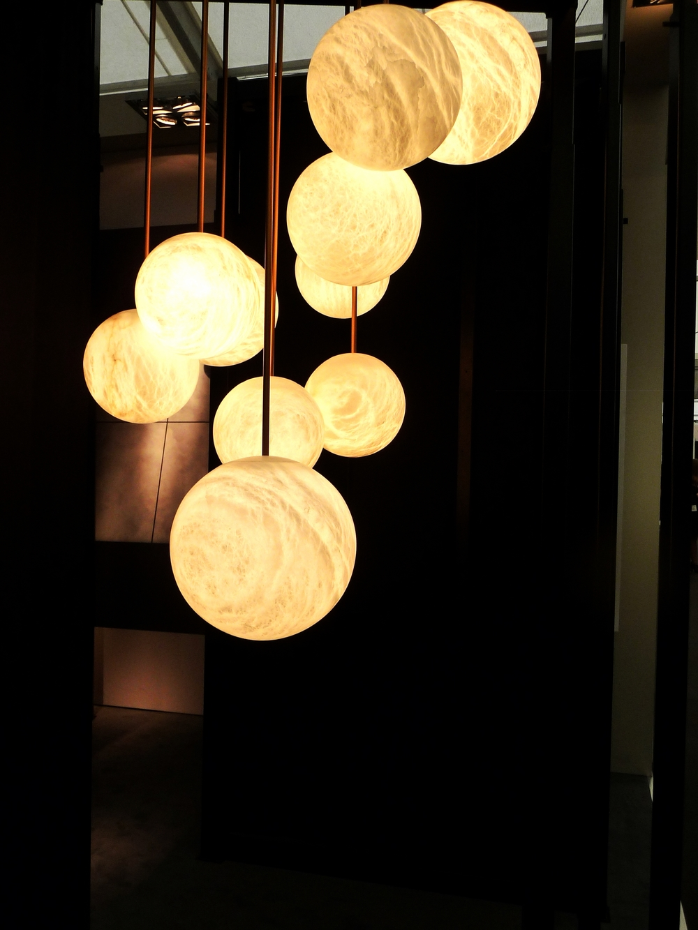 Amazing alabaster lights