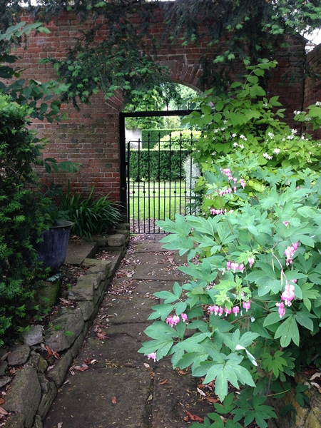 "The garden is full of gates through which opens another ""room"""