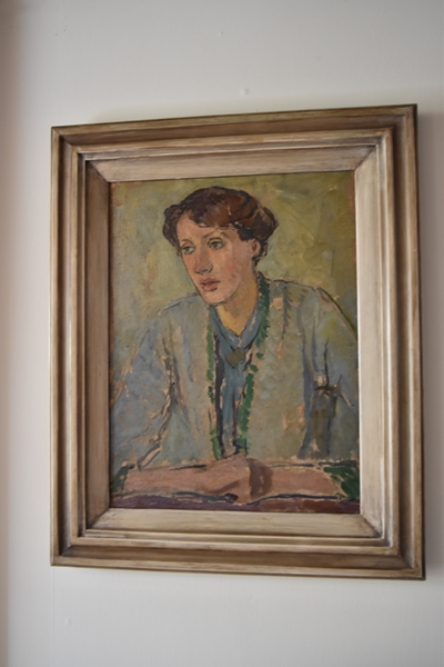 Painting of Virginia by her sister Vanessa Bell