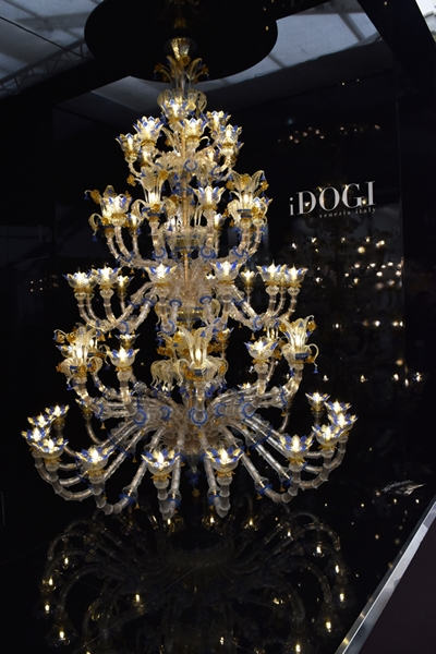 This chandelier was the princely sum of 130,000 Euros!!