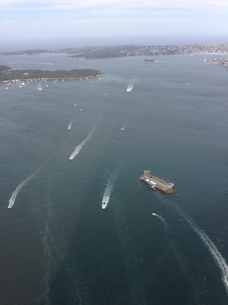 Traffic to and from Manly