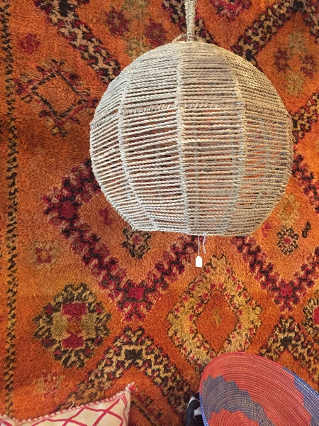 Fez Bazaar - this pendant light only £170