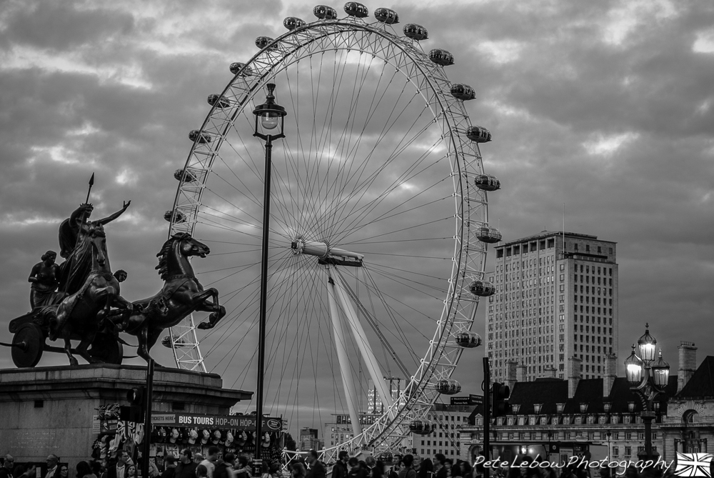 Boudicca presents London Eye