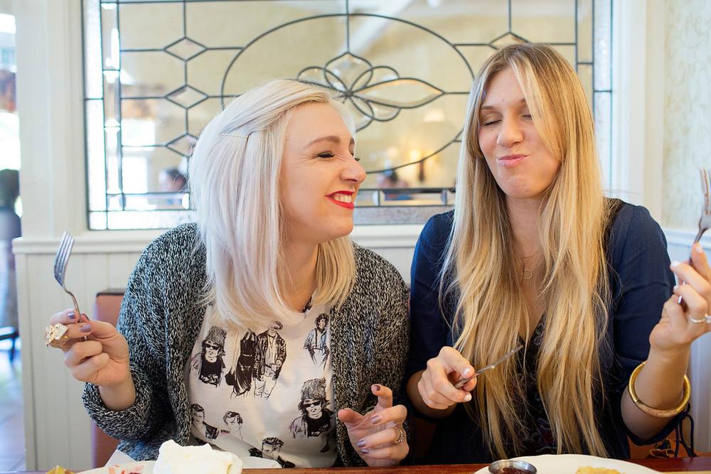 Alison and Andrea Faulkner