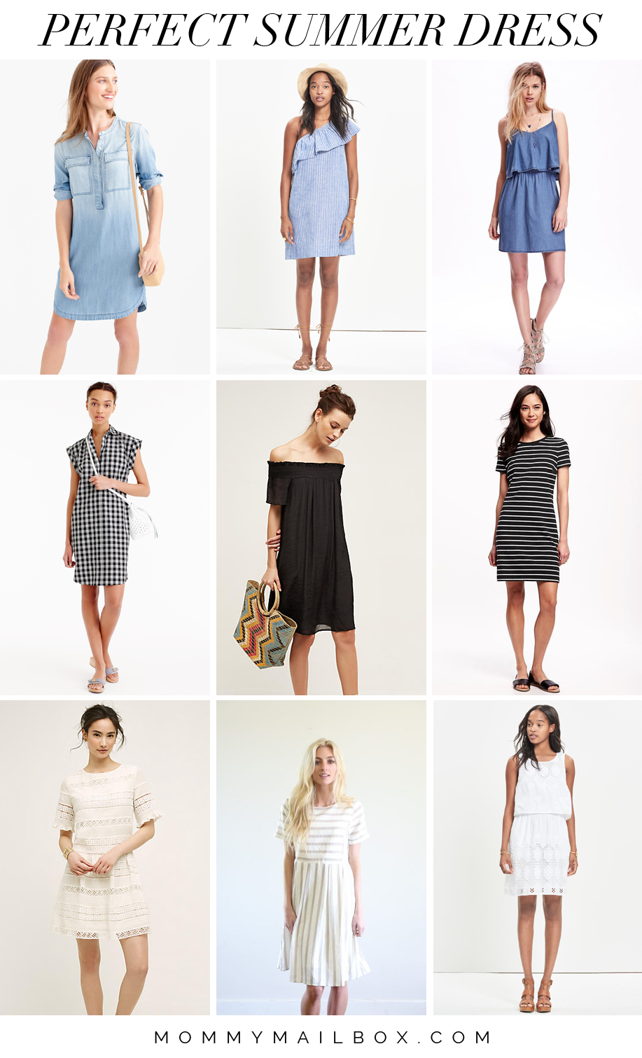 Picking the perfect summer dress