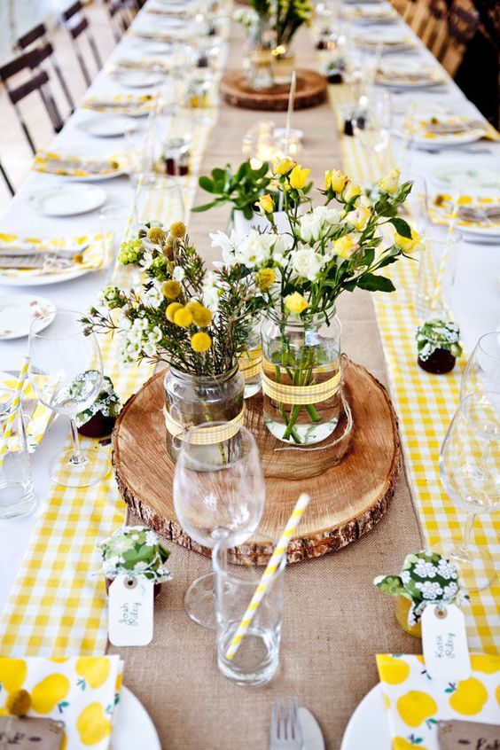 Yellow table