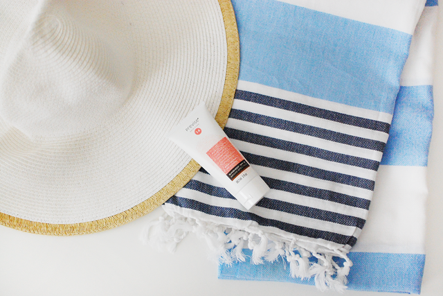 This sunscreen has an SPF 30, and is full of antioxidants and licorice root to act as a moisturizer as well.