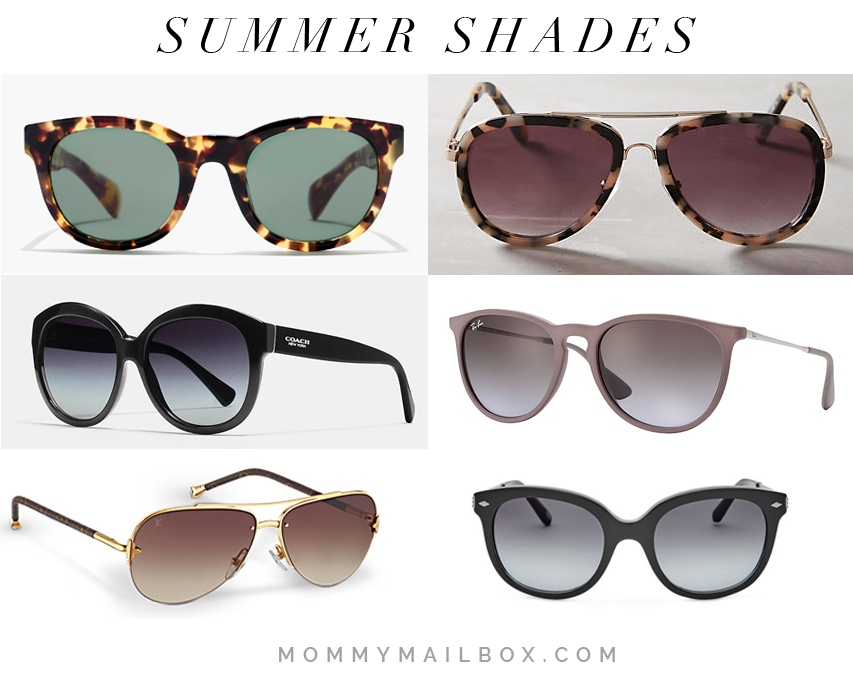 Summertime + Sunglass Time!
