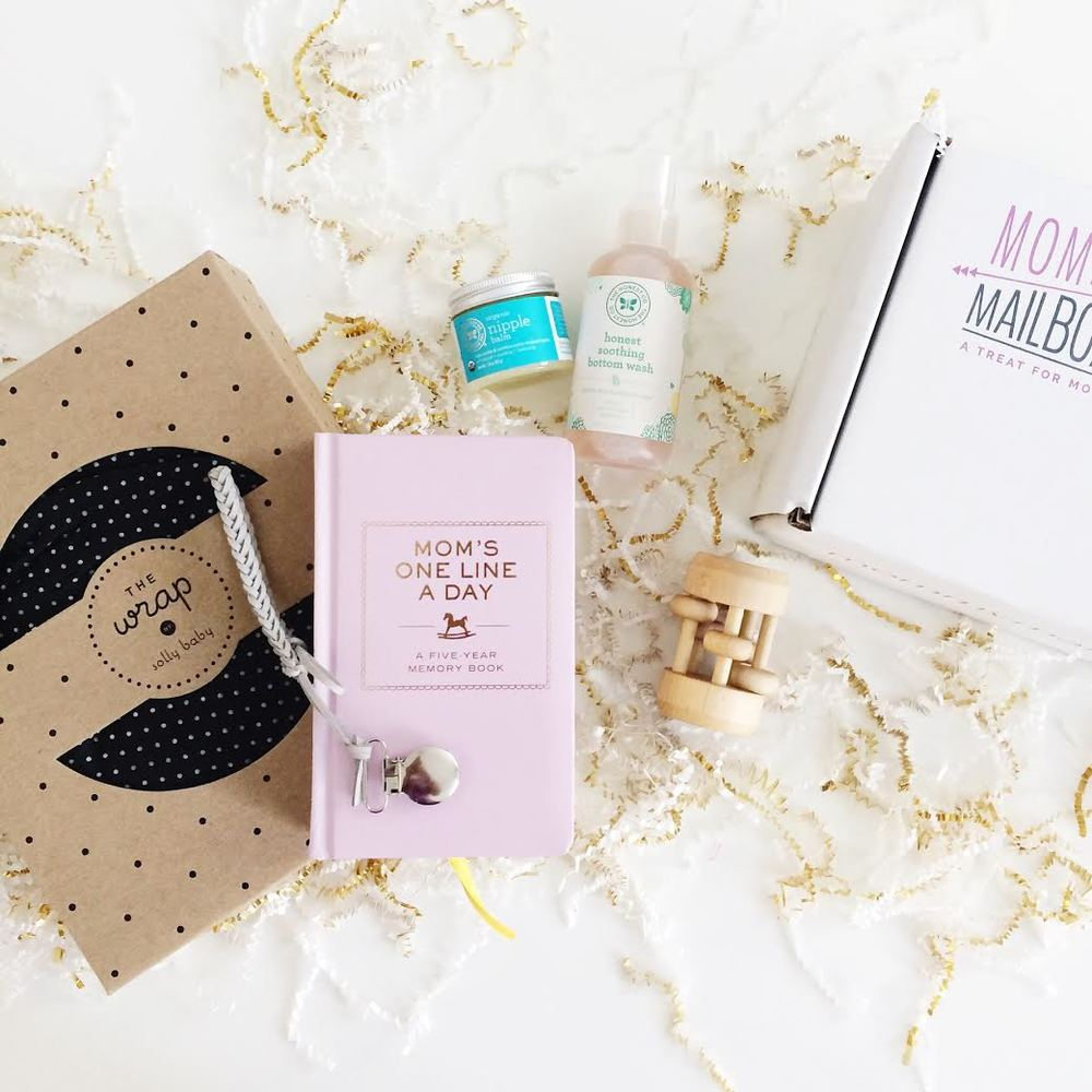Mommy Mailbox - Born for this Box.  Amazing goodies for new mom's!