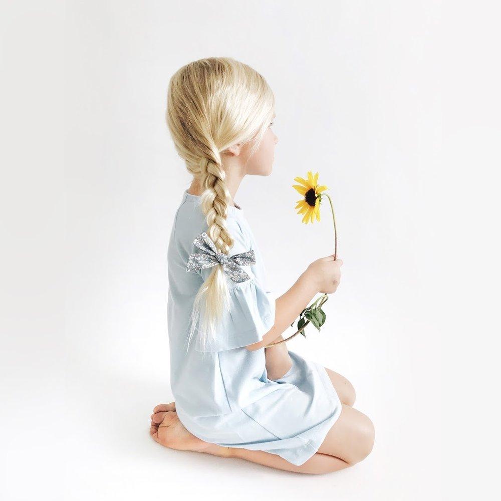 little platz bell sleeve dress toddler girls