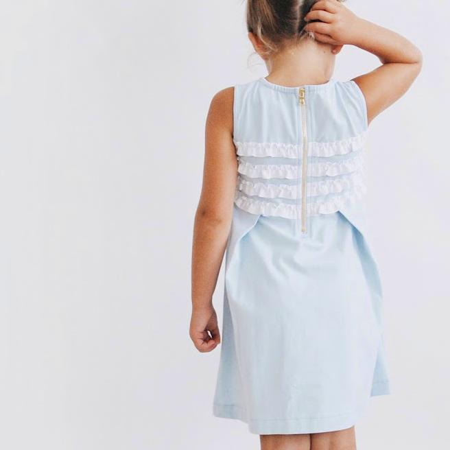 ruffle dress toddler girls