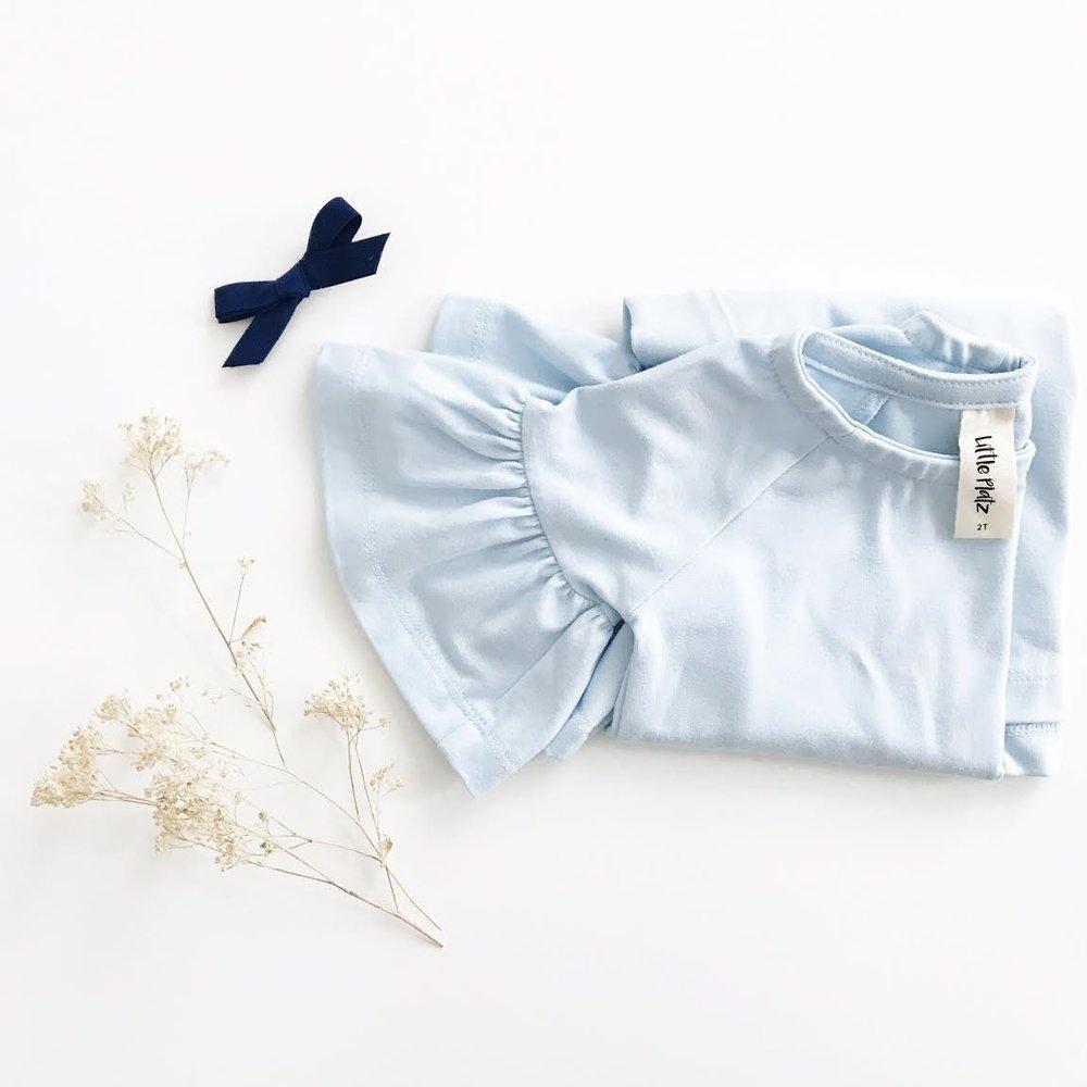 bell sleeve toddler dress