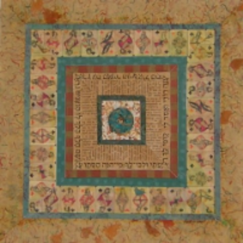 """Circle in the Square 24"""" x 24"""" $1500"""