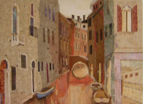 "Venice at Night  18"" x 24""  $1800"