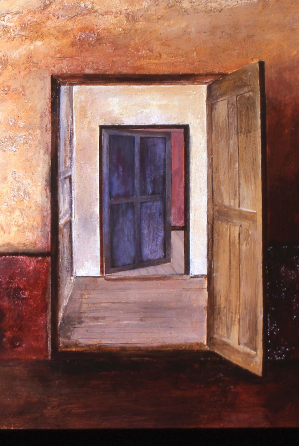 "OPEN DOORS    Mixed Media  30"" x 40"""