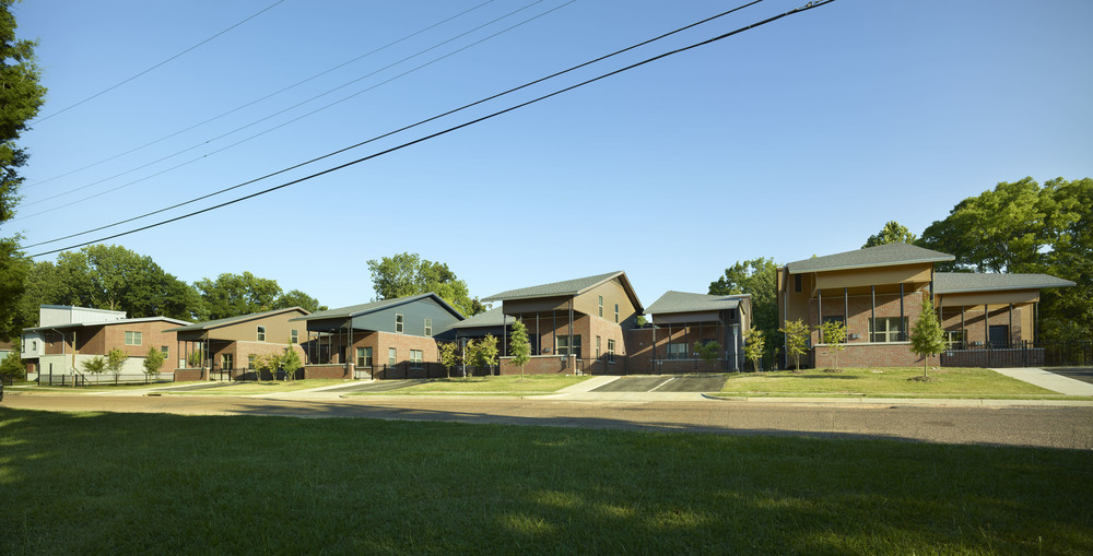 Jackson Housing Authority, Midtown Affordable Housing - Phases I & II. Jackson, Mississippi