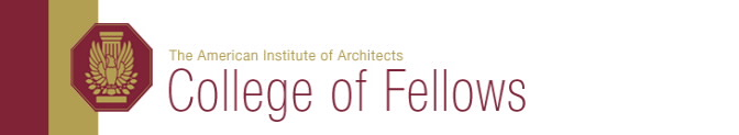 ANNE MARIE DUVALL DECKER OF DUVALL DECKER ARCHITECTS ELEVATED TO AIA COLLEGE OF FELLOWS