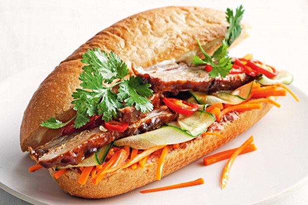 pork banh mi bookshelf spicy pork bulgogi banh mi spicy pork bulgogi ...