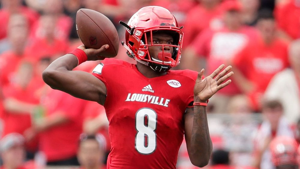 """How will Lamar Jackson encore his Heisman winning season- and can he become the first human highlight reel since Michael Vick?""   (Photo is courtesy of http://www.theonion.com/)"