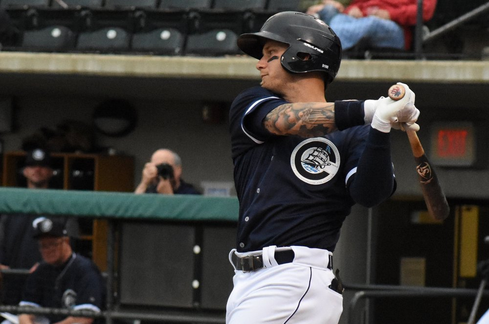 Brandon Barnes | Photo by Cat Wood/Columbus Clippers