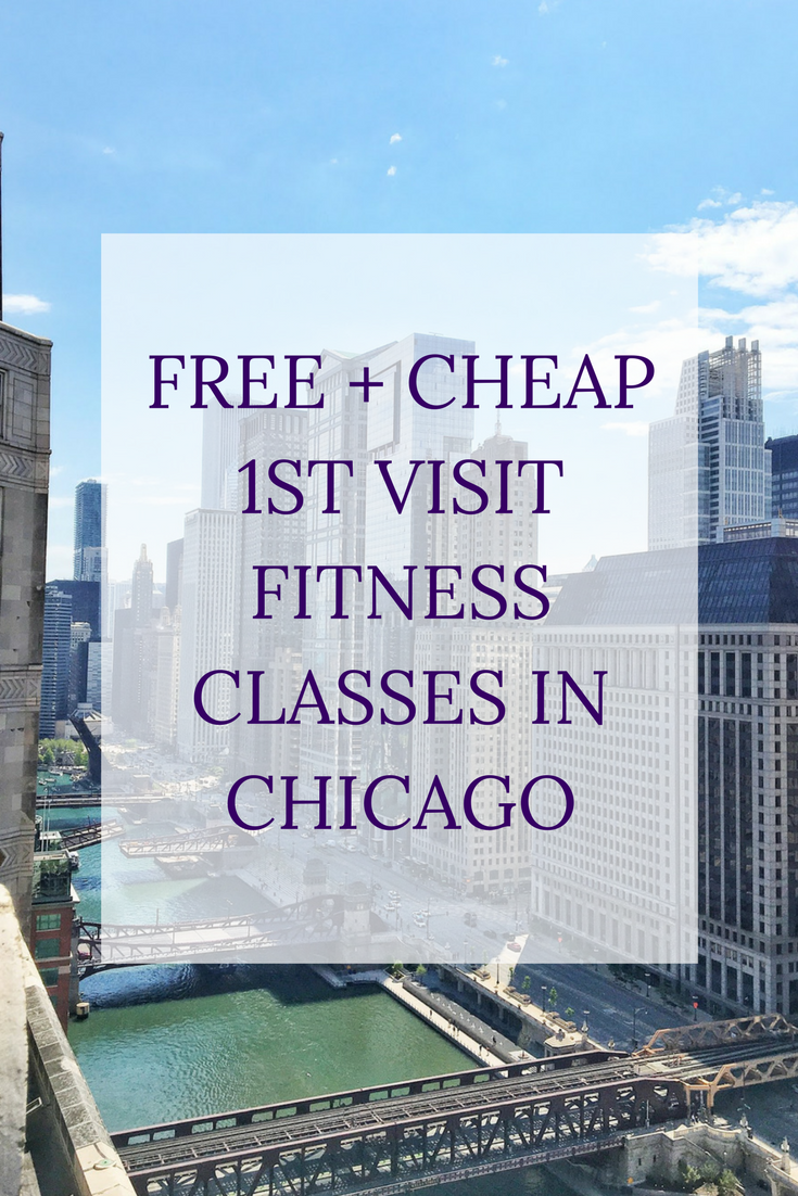 Free + Cheap 1st Visit Fitness Classes in Chicago | Personally Paleo