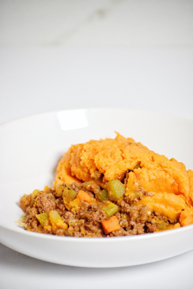 Sweet Potato Cottage Pie | Personally Paleo